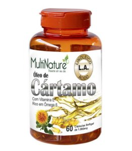 OLEO DE CARTAMO 1G + VITA E 60CAPS MULTINATURE