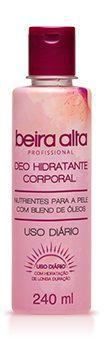 Beira Alta Deo Hidratante Corporal  c/ Blend de Óleos 240mL