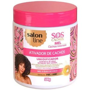 Ativador de Cachos Salon Line S.O.S Mel 500ml