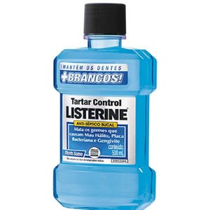 Listerine 500ml Tartaro Control Zero Alcool