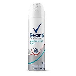 Desodorante Rexona Aerosol Antibacterial Fresh 90g