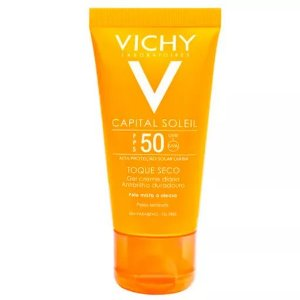 Vichy Ideal Soleil Antibrilho FPS50 Gel Creme 40G