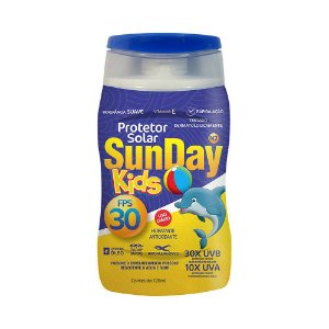 Protetor Solar Sun Day Kids FPS 30 120mL