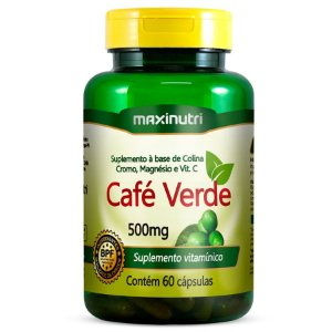 CAFE VERDE 500mg 60caps - MAXINUTRI