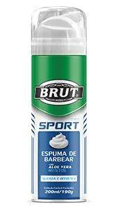 Espuma de Barbear Brut Sport 200ML