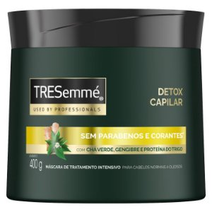 Mascara de Tratamento TRESemmé 400g Detox capilar