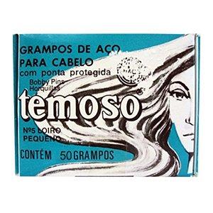 Grampo Temoso Loiro nº 5 c/ 50 unidades
