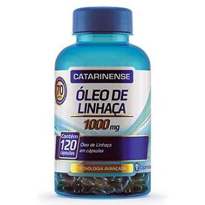 OLEO DE LINHACA 1000MG 120CAPS CATARINENSE