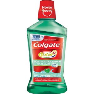 Enxaguante Bucal Colgate Total 12 Saúde Bucal 500mL