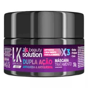 Lokenzzi Máscara Tratamento Beauty Solution 250g