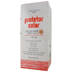 Protetor Solar Skinscience Base Bege Medio FPS 30 - Cimed
