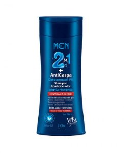 Shampoo Vita Capili  Men Anticaspa 2X1 LimpezaProfunda 250ml