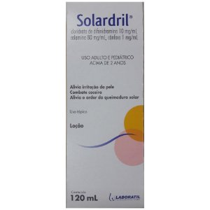 Solardril Loção 120ml - Laboratil