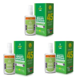Easy Care Leave-in protetor (repelente antipiolho) kit 3un