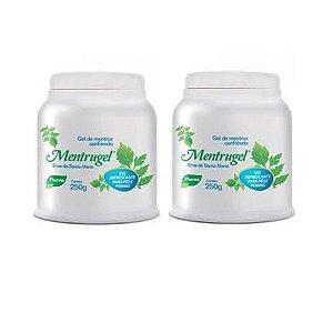 kit Gel Mentrugel com 2 Pés E Pernas Pharma 250gr cada