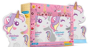 Kit Shampoo 250ml + Condicionador 230ml Unicornio Teens