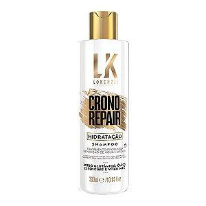 Shampoo Lokenzzi Crono Repair Hidratação 300mL