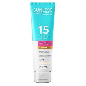 Protetor Solar Sunless Oil Free FPS 15 120g