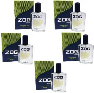 Colonia Zog Sport For Men 100ml (kit c/ 05)