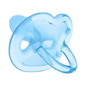 Chupeta Lolly 100% Silicone Ortodontica Azul Tam:2 R.6015-01