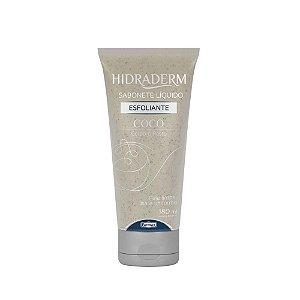 Hidraderm Sabonete Liquido Esfoliante Coco 180ml Farmax