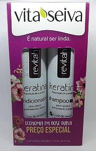 Vita Seiva Revitah Keratina Shampoo+Condcionador 300ml Cada