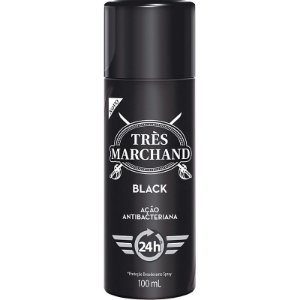 Desodorante Tres Marchand Spray Black 100ml
