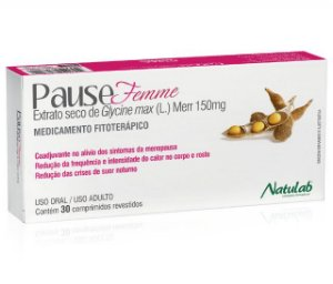 GLYCINE MAX - PAUSEFEMME 150MG 30CPR NATULAB