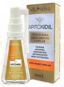 Apitox Vitamina Capilar Crescimento Engrossador 2x10ml cada