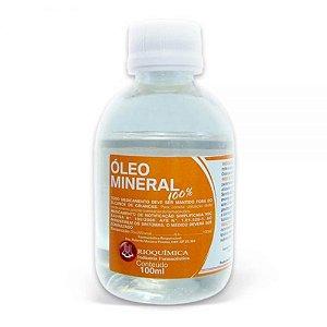 Oleo Mineral 100% 100ml Rioquimica