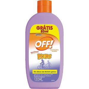 Repelente Off Kids Loção Leve 200ml Pague 117ml