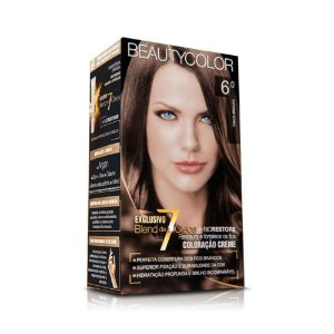 Tintura Beauty Color Kit Nova 6.88  Louro Escuro Tabaco