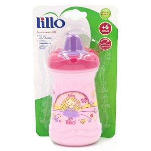 Copo Lillo  Antivazamento Princesa Rosa Ref 609331