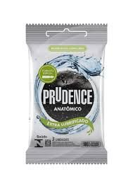 Preservativo Prudence Anatomico Extra Lubrificado 3un