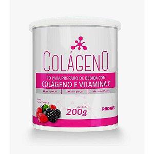 Colágeno + Vitamina C Frutas Vermelhas 220g