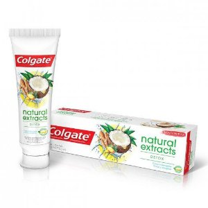 Creme Dental Colgate Natural Extracts Detoxl 90g