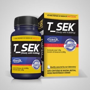 T-SEK 4000mg 120g Sachês Power Supplements