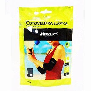 Cotoveleira Elástica Mercur Preta Tam G REF. BC 0660-CP