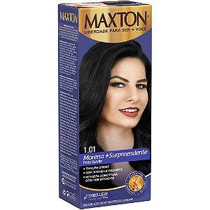 Tintura Maxton 1.01 Preto Carvao