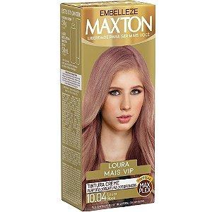 Tintura Maxton Kit 10.04 Louro Rose