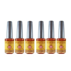 kit Casco de Cavalo Base Endurecedora 10ml Maru (6 un)