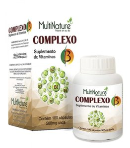 COMPLEXO B 500mg 100CAPS MULTINATURE