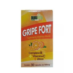 GRIPE FORT 500mg 30cps - Ourifito
