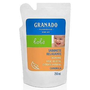 Sabonete Granado Bebe Refil Camomila 250mL