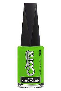 Esmalte Cora Black Neon Green 9ml