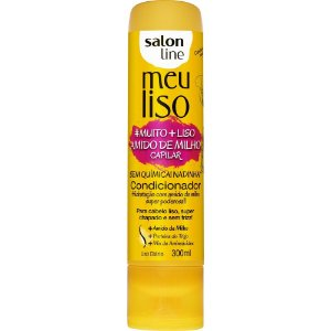 Condicionador Salon Line Meu Liso Amido de Milho 300ml