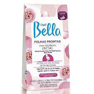 Depil Bella Folhas Depilação Facial 16un PETALAS DE ROSA