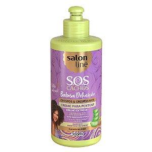 Creme pentear Salon Line SOS Cachos Babosa e karite 300ml
