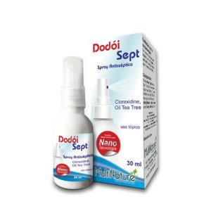 Antisséptico Clorexidina Spray Dodoi Sept  30ml Multinature