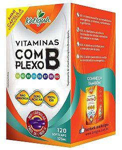 Vitamina B12 Cianocobalamina - 120 Cápsulas - Katigua